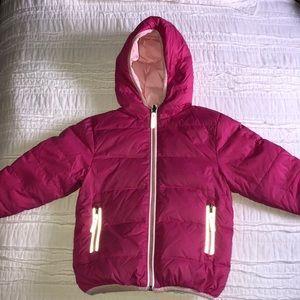 Toddler girl Hanna Anderson coat